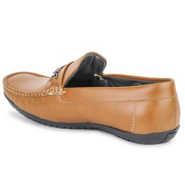 Foot n Style Tan Loafers -Fs3059