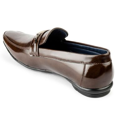Foot n Style Leather Brown Casual Shoes -fs3102