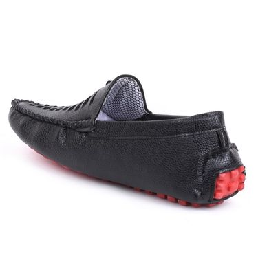 Foot n Style Black Loafers Shoes -Fs3161