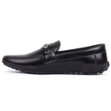 Foot n Style Black Loafers Shoes -Fs3167