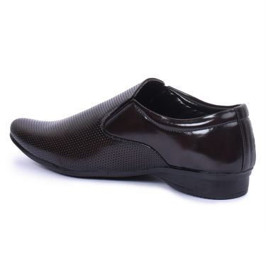 Foot n Style Patent Leather Black Formal Shoes -Fs7010