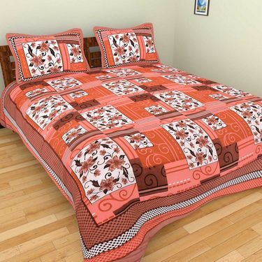 Set of 10 Double BedSheets With 20 Pillow Covers-grj-db-10-3