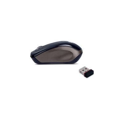 iBall FreeGo G9 Blue Eye Opti Wireless Mouse - Black & Brown