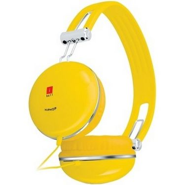 iBall HipHop Headset - Yellow