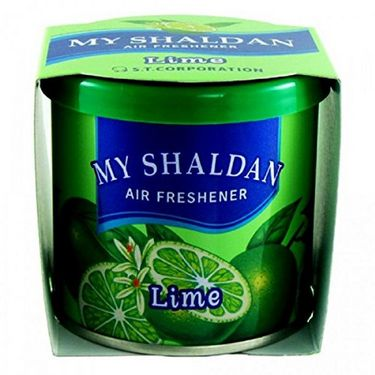 Speedwav My Shaldan Gel Car Air Freshener Perfume - Lime