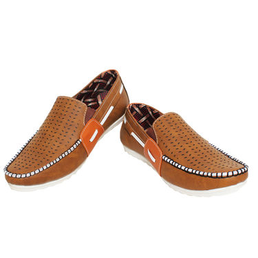 Detak Synthetic Leather Loafers Shoes -Rocky12