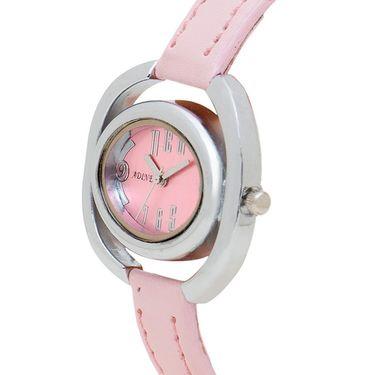 Adine Analog Wrist Watch For Women_Ad1240p - Pink