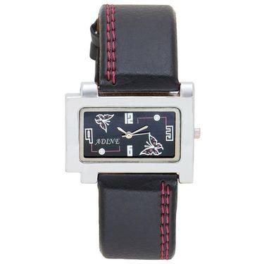 Adine Analog Wrist Watch For Women_Ad1241bk - Black