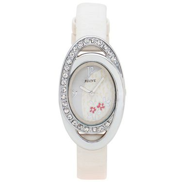 Adine Analog Wrist Watch For Women_Ad1250w - Silver