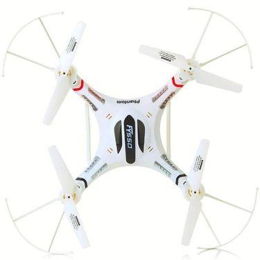 Phantom2 RC 6-Axis Quadcopter with Camera, Accessories - White