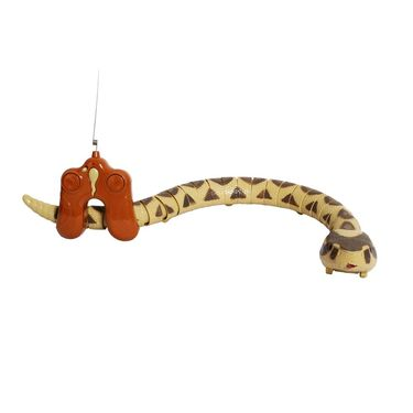 Remote Controlled RC Huge Rattlesnake - Yellow