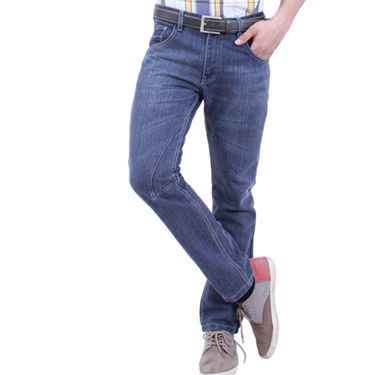 Uber Urban Cotton Jeans_ub18 - Blue