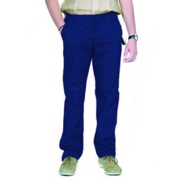 Uber Urban Cotton Trouser_ub30 - Blue
