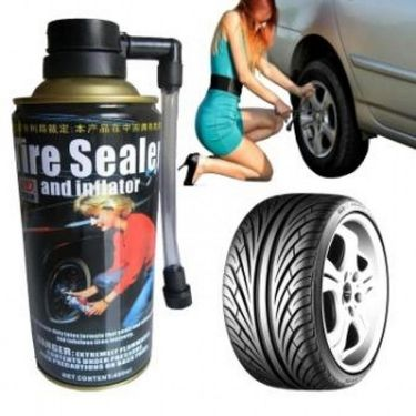 Buy 1 get 1 Free Help Tyre Inflator & Sealer for Emergency Tyre Puncture Usage