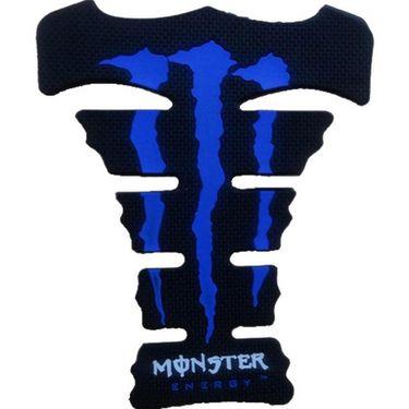 Monster Blue Tank Pad for Bike