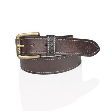 Branded Casual Leather Belt For Men_wd_br - Brown
