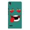 Snooky Digital Print Hard Back Case Cover For Huawei Ascend P6 Td12031