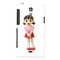 Snooky Digital Print Hard Back Case Cover For Sony Xperia T Lt30p Td12806