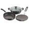 Vinod Cookware Black Pearl  Hard Anodised 3pc Combo Set HACM-3