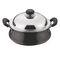 Vinod Cookware Black Pearl  Hard anodised Handi Juniour with Lid   HAHWL-JR