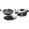 Hawkins Futura 3pcs Hard Anodized Cookware Set - Black LS5