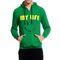 Brohood Cotton Blend Full Sleeves Casual Sweatshirt For Men_skhc33027 - Green
