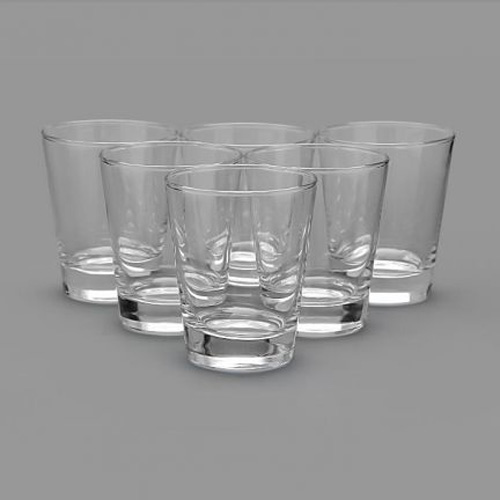 Buy set of 6 lyra flare dof juice glass online at best for Naaptol kitchen set 70 pieces