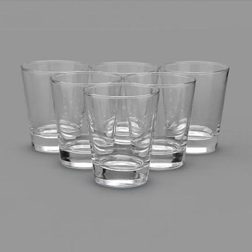 Naaptol Kitchen Set: Buy Set Of 6 Lyra Flare Dof Juice Glass Online At Best