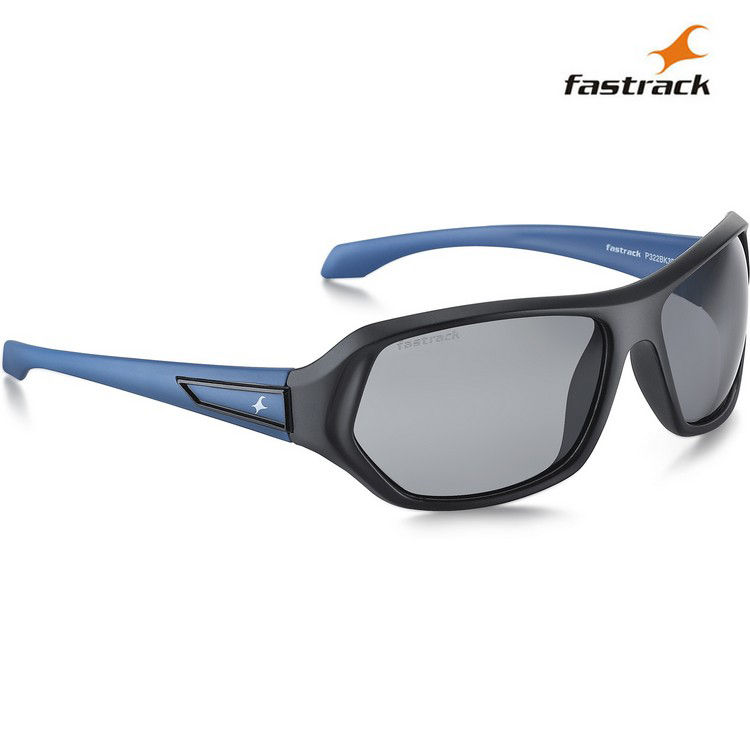 best polarised sunglasses zpwj  Fastrack Polarized Sunglasses For Men_P322bk3p