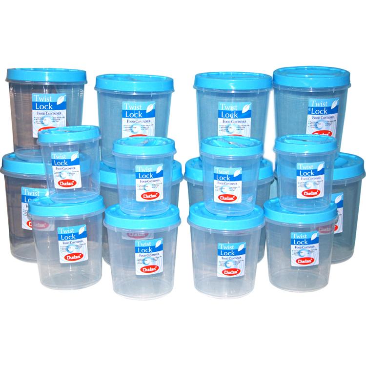Buy chetan 16pcs twist lock kitchen storage container set for Kitchen set naaptol