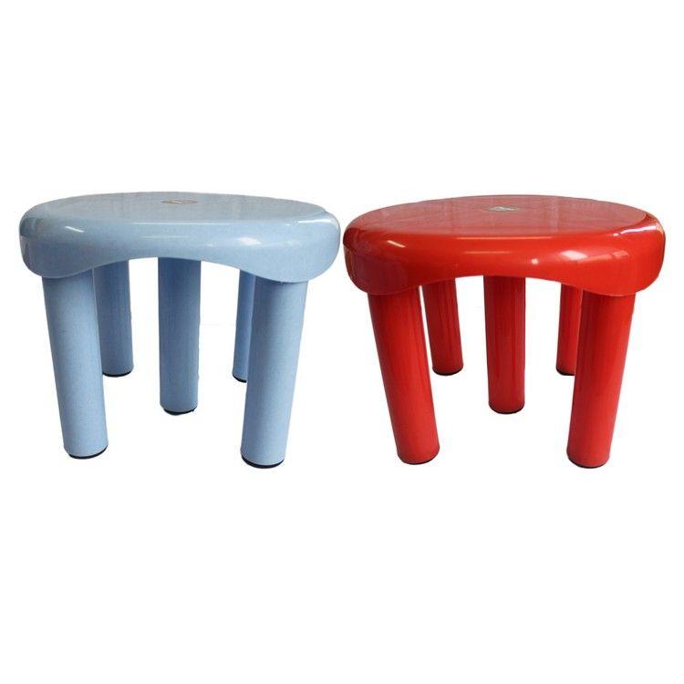 Buy Chetan 2pc Bathroom Plastic Stool 5 Legs Online At