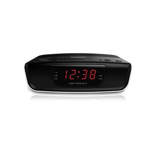 buy philips aj3123 12 digital tuning clock radio black online at best price in india on. Black Bedroom Furniture Sets. Home Design Ideas
