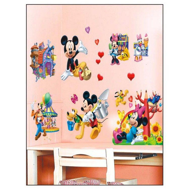 buy pindia decor3d mickey disney characters wall sticker