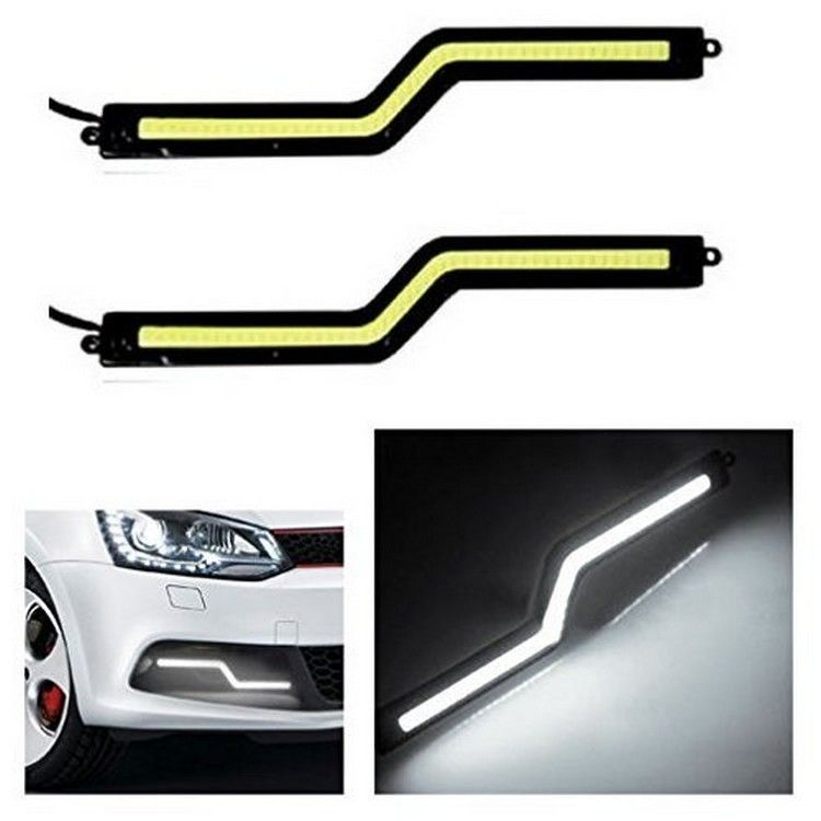 Buy Autosun Daytime Running Lights Cob Led Drl White