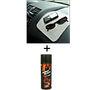 Combo of Car Dashboard Shine Spray + Non Slip Dash Mat