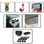 Combo Car Reverse Parking Sensors +Dvd Visor + Hanging Perfume + Blind Spot Mirror + Non Slip + Feng Shui For Car