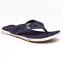 Bacca bucci Leather Slippers - Navy Blue