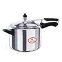 Bajaj Majesty 5Ltr Aluminium Inner Lid Pressure Cooker - Silver