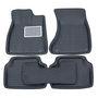 Branded 3D Car Bucket Tray Footmat For Xuv-500 - Black
