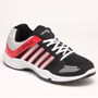 Columbus PU Sports Shoes - Black & Red-3682