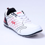 Columbus PU Sports Shoes - White & Red-2387