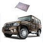 Galaxy Car Body Cover Mahindra Bolero - Silver