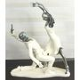 Importwala white & silver Dancing Couple 1403-1006