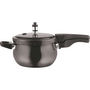 Vinod Kraft 6.5 Ltr Induction Friendly Hard Anodised Pressure Cooker - Black