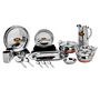 PNB 51Pcs Stainless Steel Dinner Set - Silver LE-PNB-001