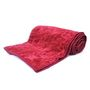 Little IndiaDesigner Printed Single Printed Bed Blankets -Maroon- DLI4SBK107