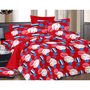 Valtellina Double Bed Sheet with 2 Pillow Cover-MO-310