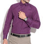 Fizzaro Plain Cotton Shirt _Plsrtc103 - Dark Purple
