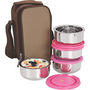 NanoNine Insulated Junior Lunch Box 4 Pcs SS071