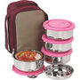 NanoNine Insulated Senior Lunch Box 4 Pcs SS076